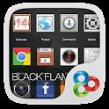 Black Flame GO Launcher Theme icon