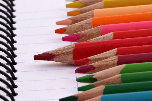 Uniqueness in similarity by Ramakant Sharda - Artistic Objects Still Life ( macro, micro, colors, object, crayons, pencils, , colorful, mood factory, vibrant, happiness, January, moods, emotions, inspiration )