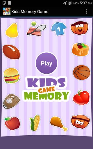 Kids Memory Game Free