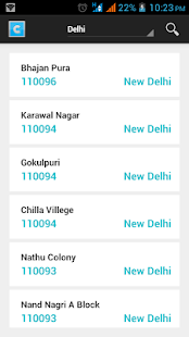 AllCodes PIN IFSC MICR (india) - screenshot thumbnail