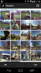 Autographer wearable camera - screenshot thumbnail
