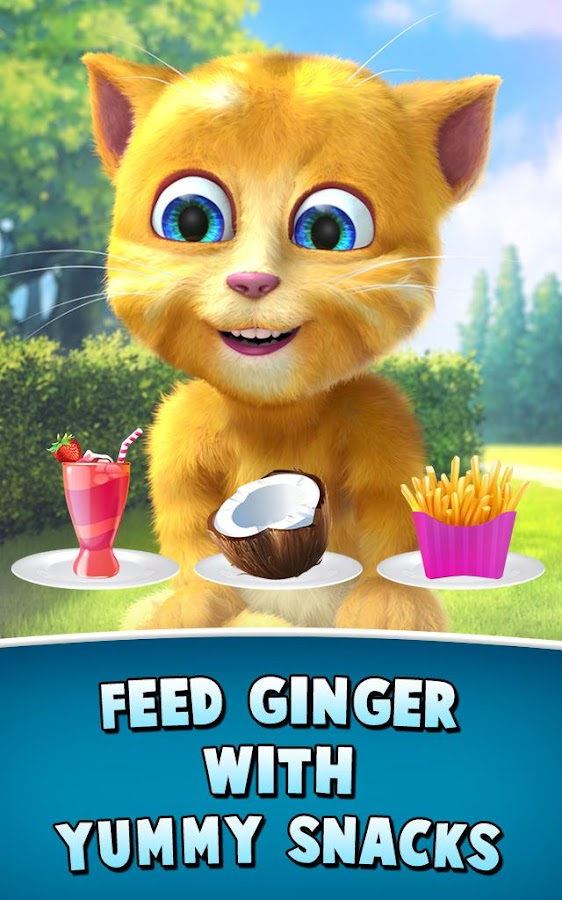 Screenshots of Talking Ginger 2 for iPhone