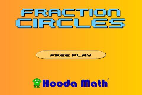 Fraction Circles: captura de pantalla