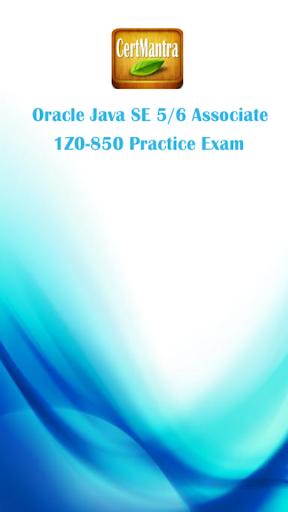 Oracle Java 5 6 Exam