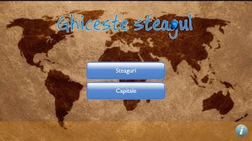 Screenshot of Ghiceste Steagul