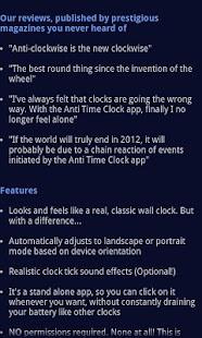The Anti Time Clock- screenshot thumbnail