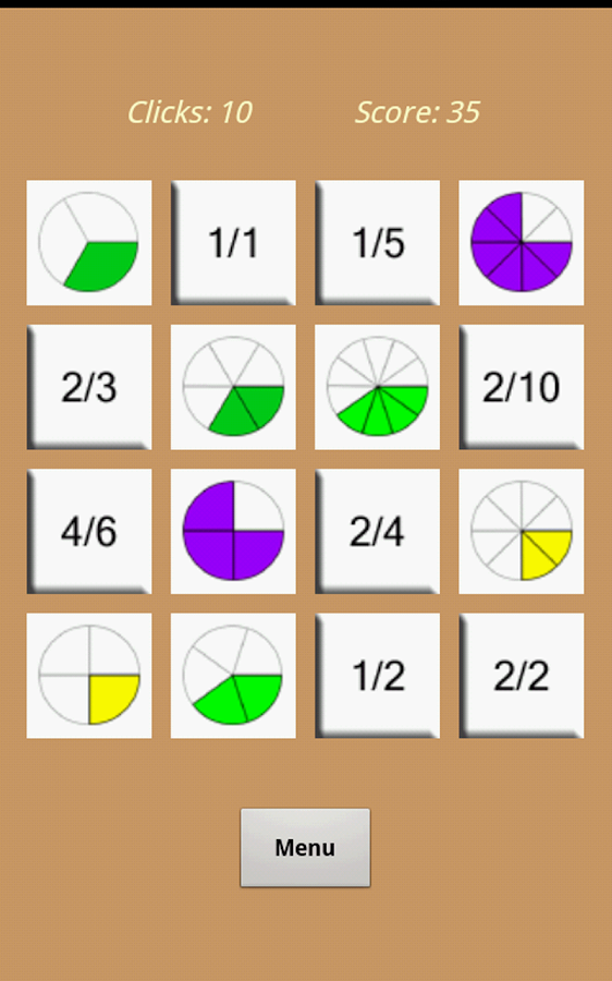 Equivalent Fractions Matching - Android Apps on Google Play
