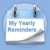 My Yearly Reminders