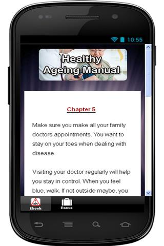 Healthy Ageing Manual - screenshot