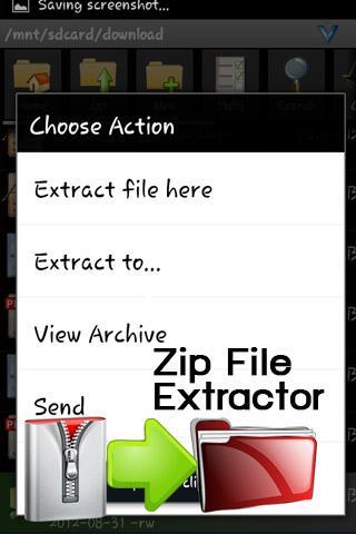 Zip File Extractor
