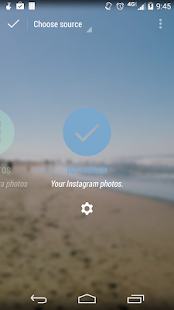 Instagram Muzei Addon - screenshot thumbnail