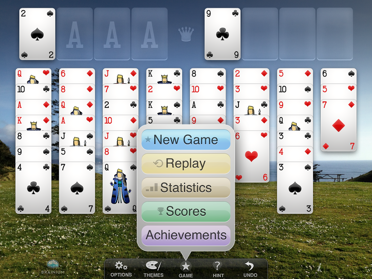 FreeCell Solitaire- screenshot