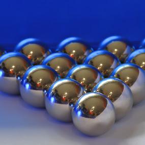 steel balls by Fernando Ale - Artistic Objects Other Objects