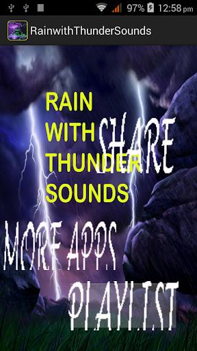 RainwithThundersounds