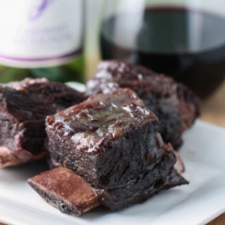 Slow Cooker Beef Short Ribs in Cabernet Sauce