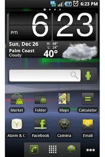 ADW Theme: Nexus S Gingerbread - screenshot thumbnail