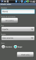 Screenshot of MisVacunas