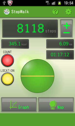 StepWalk Pedometer