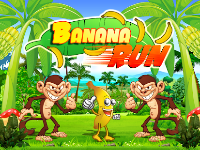 Baby Banana Run Monkey Escape