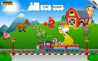Screenshot of Preschool Learning Games Train