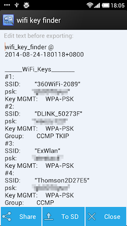 wifi key finder(Root) 2.0 screenshot 19533