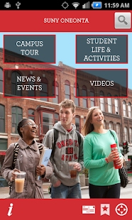 SUNY Oneonta Campus Tour - screenshot thumbnail