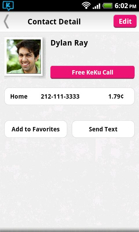 KeKu Cheap International Calls- screenshot