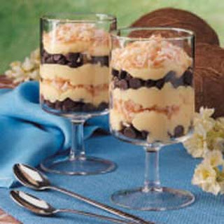 Chocolate Chip Pudding Parfaits