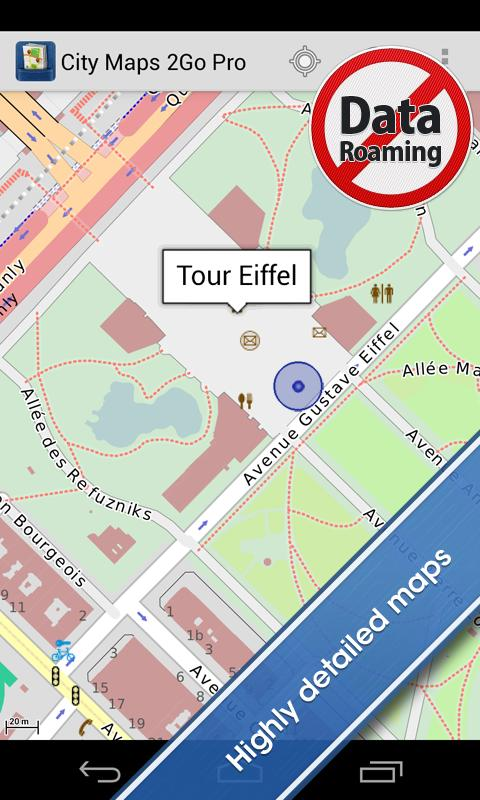 City Maps 2Go Pro Offline Maps - screenshot
