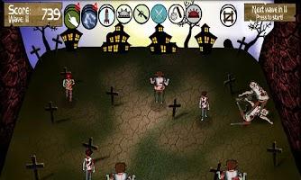 Screenshot of Zombie Smasher!