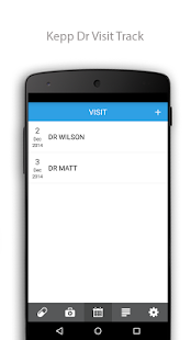 Medical Representatives screenshot for Android