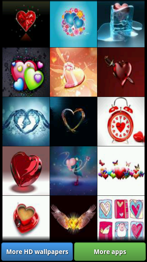 Love Heart HD Wallpapers- screenshot