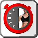 HIIT 4 interval training timer icon