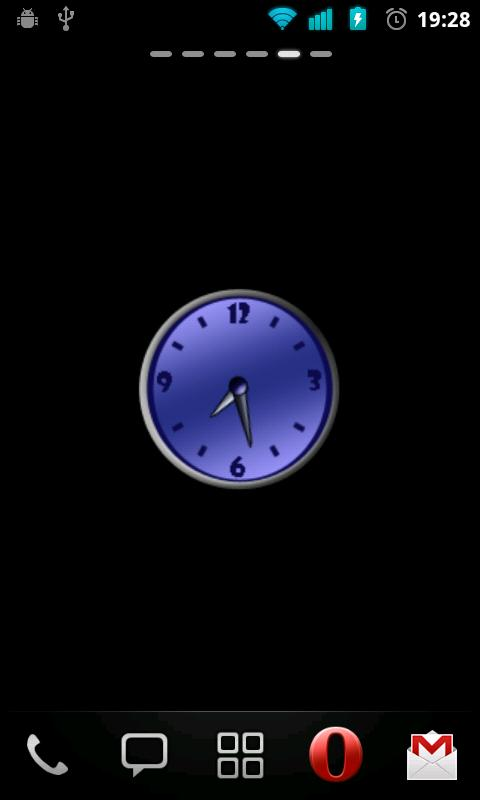Classic Clock Widget - screenshot