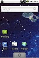 Screenshot of Enterprise Live Wallpaper Lite