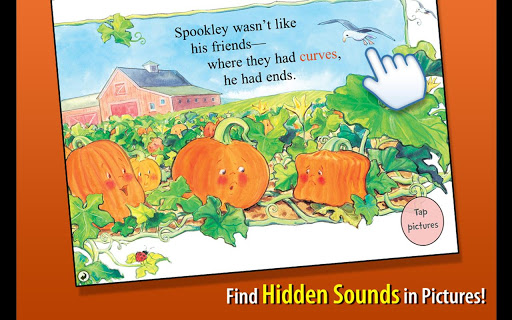 【免費書籍App】Spookley the Square Pumpkin-APP點子