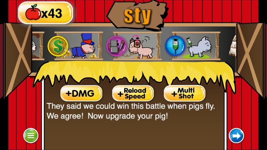 Piggies Strike Back- screenshot