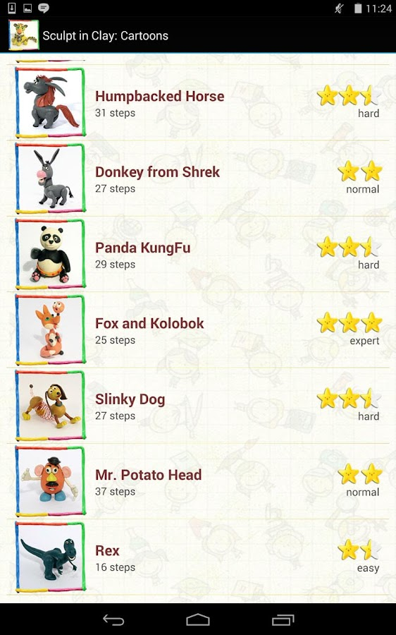 Vorms in clay cartoon heroes - screenshot
