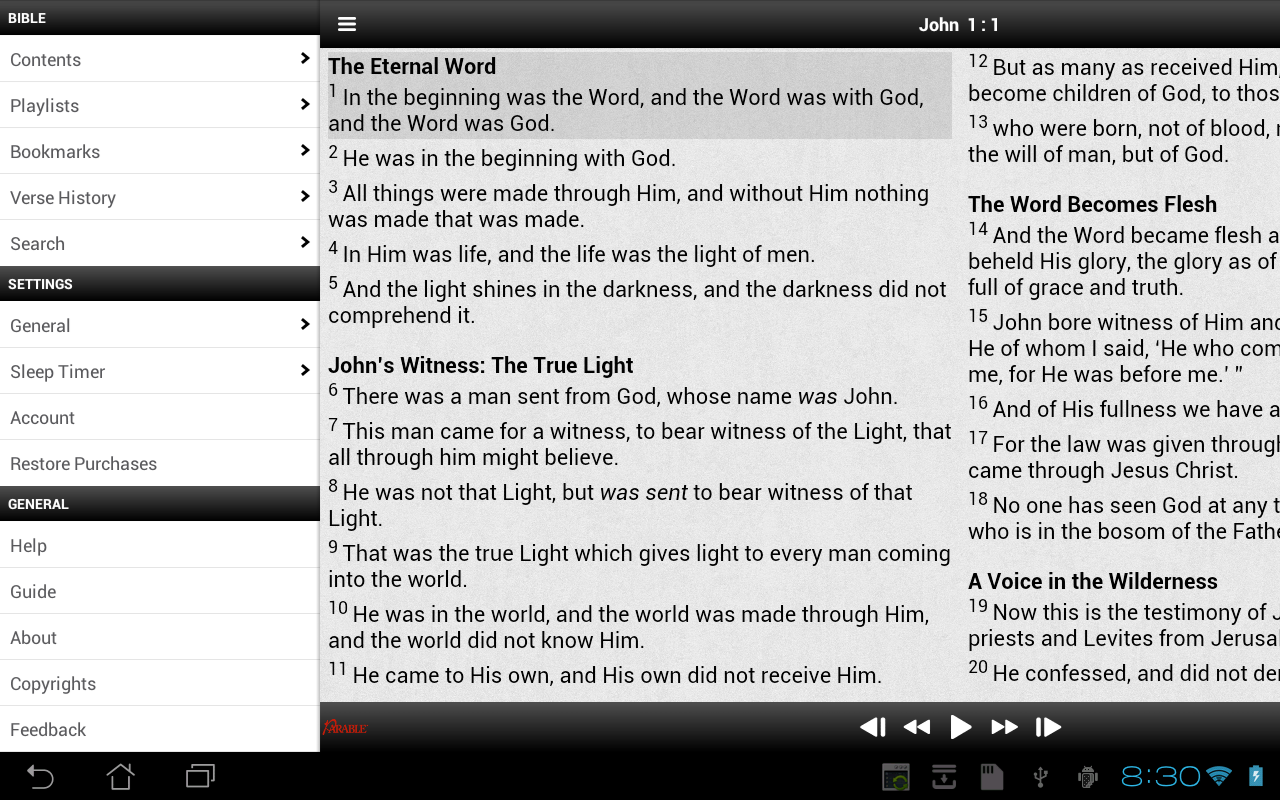 Parable NKJV - screenshot