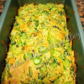 Crustless Broccoli Onion Pie