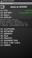 Screenshot of WSystem Information