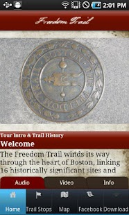Tour Boston's Freedom Trail- screenshot thumbnail