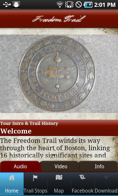 Tour Boston's Freedom Trail- screenshot