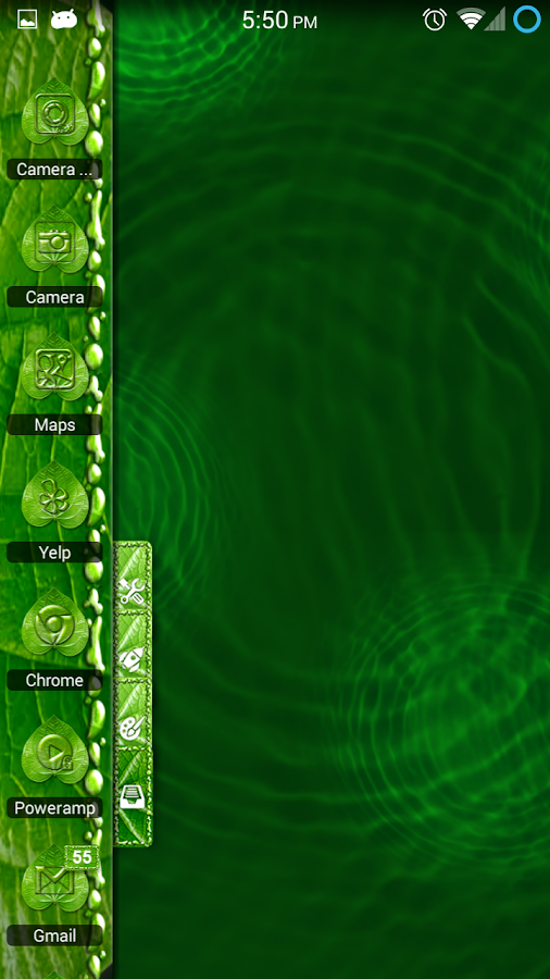 Dew Waterdrop HD TSF Shell - screenshot
