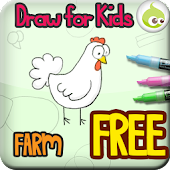Draw for Kids, Farm Animal