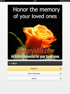 MemoryIsLife Mobile - screenshot thumbnail