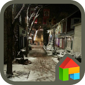 Winter night dodol theme