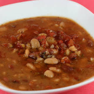 Calico Bean Soup Slow Cooker.