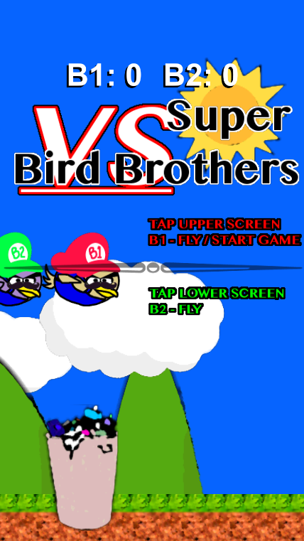 Super Bird Brothers - 2 Player- screenshot