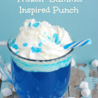 'Frozen' Summer Inspired Punch Recipe
